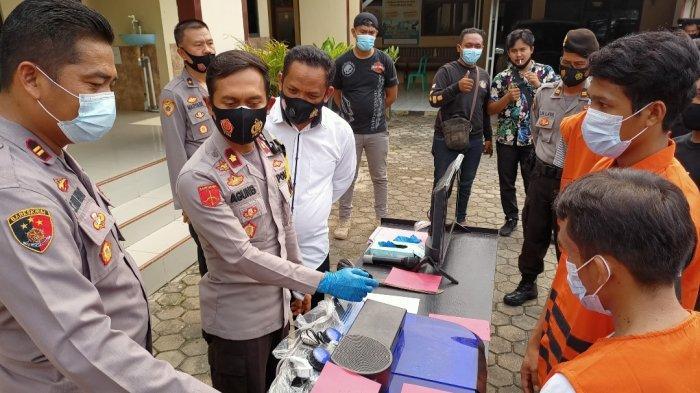 Polsek Penengahan Lampung Selatan Ungkap Kasus Penodongan di Jalintim