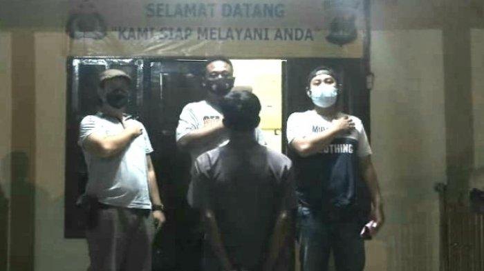 Ngamuk Ancam Bunuh Tetangga, Polsek Pugung Tanggamus Tangkap Preman Kampung