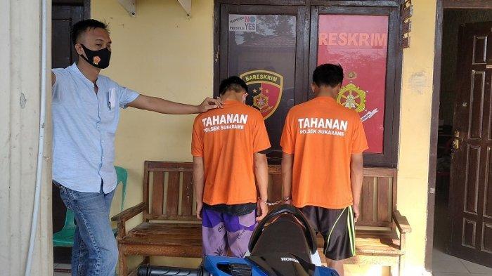 Pengakuan 2 Remaja Jadi Pelaku Curanmor di Bandar Lampung: Berangkat Siang, Sore Beraksi
