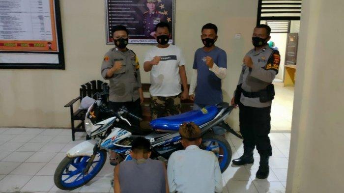 Polsek Sungkai Selatan Ringkus Pelaku Curanmor di Desa Way Isom Lampung Utara