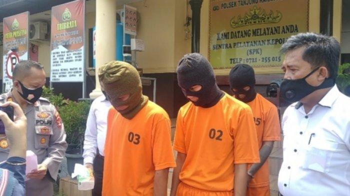 Polsek Tanjungkarang Barat Buru 4 Rekan Tersangka Curanmor yang Masuk DPO