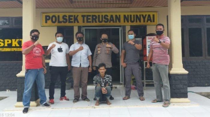 Polsek Terusan Nunyai Tangkap DPO Pencurian dengan Modus Mendongkel Jendela