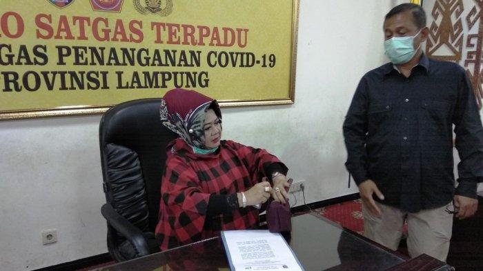 Pasien Positif Corona di Lampung Bertambah 2 Orang, Salah Satunya Dirawat di RS Urip Sumoharjo