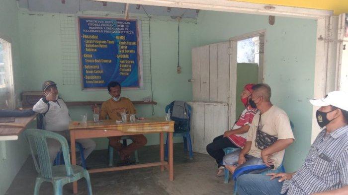 Warga di Pringsewu Lampung Swadaya Bantu Tetangga yang Sedang Isolasi Mandiri
