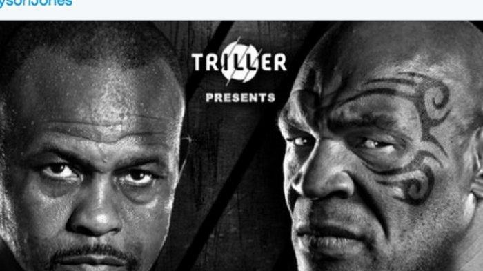 LINK Live Streaming Laga Tinju Mike Tyson vs Roy Jones Jr di BT Sport, Tak Live TVOne dan ESPN