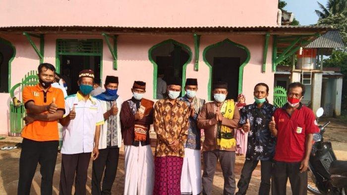 Potret Toleransi Lampung, Beragam Agama Jaga Salat Id