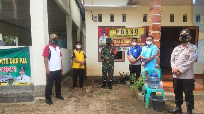 Forkopimcam Sribhawono Monitoring Posko PPKM Berskala Mikro di Lampung Timur