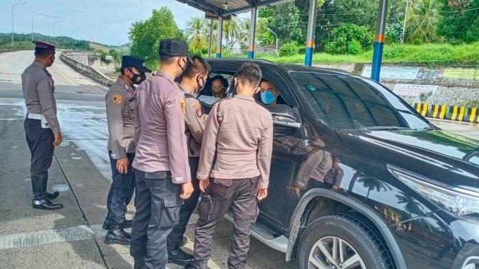 PPKM Darurat, 53 Kendaraan Diputar Balik di Pelabuhan Bakauheni Lampung Selatan