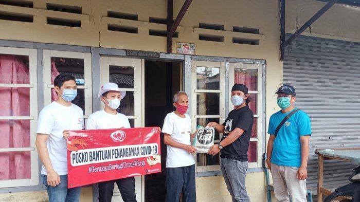 PPKM Darurat, DPD KNPI Kota Bandar Lampung Adakan Giat Berbagi