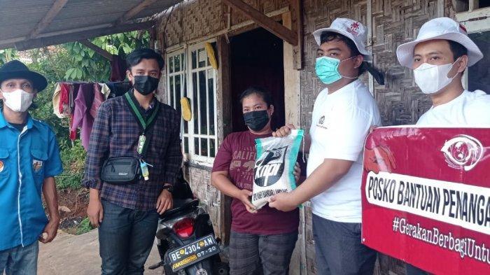 PPKM Darurat Tak Surutkan Semangat DPD KNPI Bandar Lampung Melakukan Giat Berbagi
