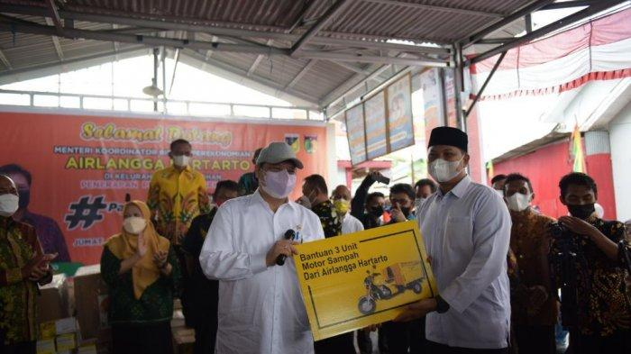Menko Airlangga: Atasi Covid 19 di Provinsi Sulawesi Tengah dengan Sukses Kampung Tangguh
