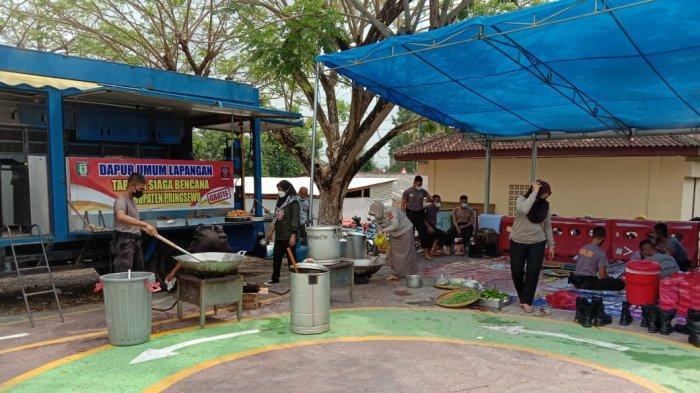 PPKM Level 4, Polres Pringsewu Lampung Buka Dapur Umum