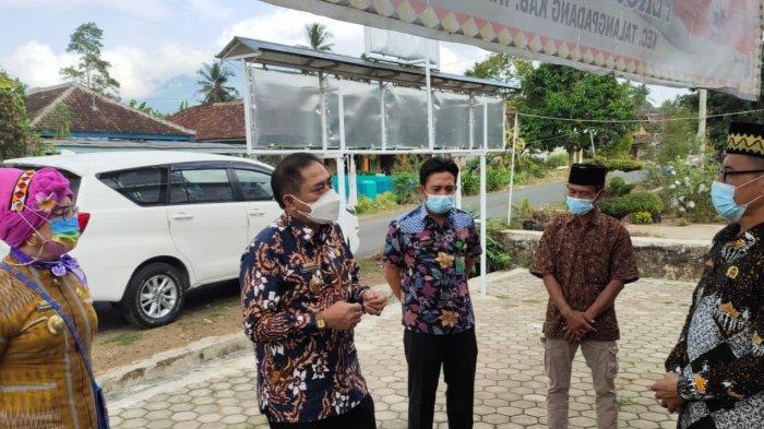 Awasi PPKM Mikro, Kepala Dinas di Tanggamus Lampung Keliling Kecamatan