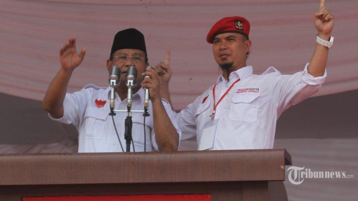 Ahmad Dhani Beber Alasan Prabowo Gabung ke Pemerintahan Jokowi