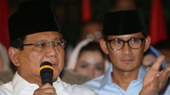 Prabowo Subianto Ultah, Sandiaga Unggah Foto Menyentuh di IG