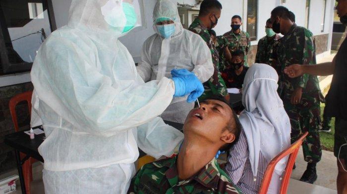 64 Personel Marinir Lampung Dinyatakan Sembuh dari Covid-19