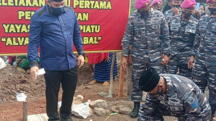 Prajurit Marinir TNI di Lampung Wakafkan Tanah untuk Pembangunan Masjid