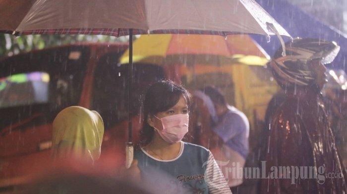 Prakiraan Cuaca Lampung Hari Ini, Waspada Hujan Lebat dan Angin Kencang hingga Sore Nanti