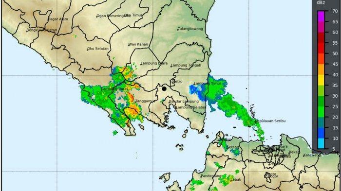 Prakiraan Cuaca Lampung Hari Ini 21 Oktober 2020, Siang hingga Sore Potensi Hujan