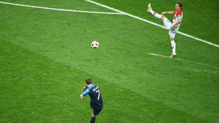Prancis untuk Sementara Unggul 1-0 atas Kroasia
