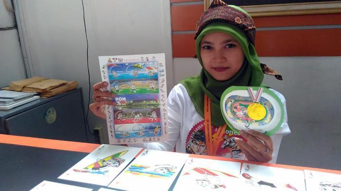 Pos Indonesia Luncurkan Prangko Seri Khusus PON, Satu Sheat Dibanderol Rp 36 Ribu