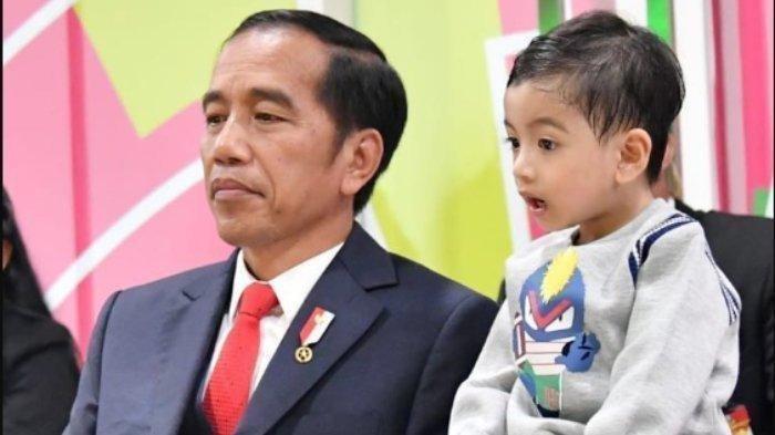 Cucu Presiden Jokowi, Jan Ethes Selalu Tanya Keberadaan Sang Ayah
