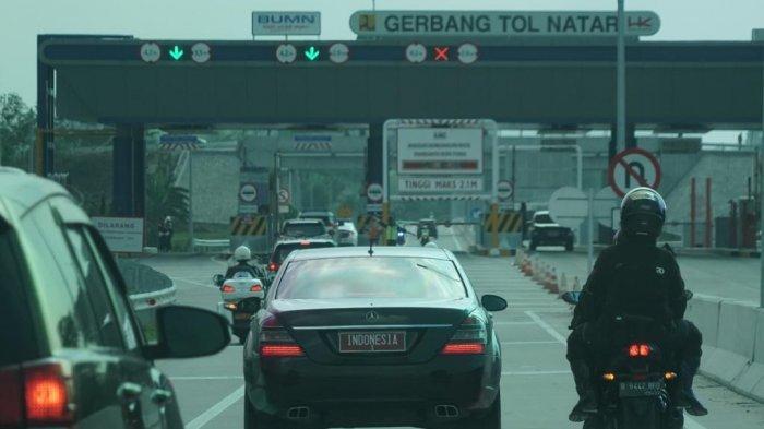 Foto-foto Presiden Jokowi Jajal Tol Lampung-Palembang Seusai Resmikan Tol Terbanggi Besar-Kayu Agung