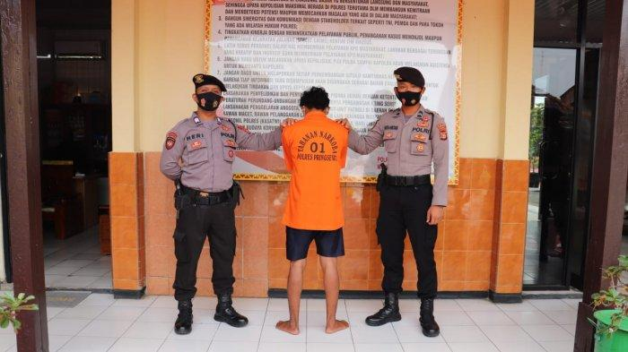 Begal asal Tanggamus Ditangkap karena Jambret Ponsel di Depan Ponpes Kawasan Pringsewu