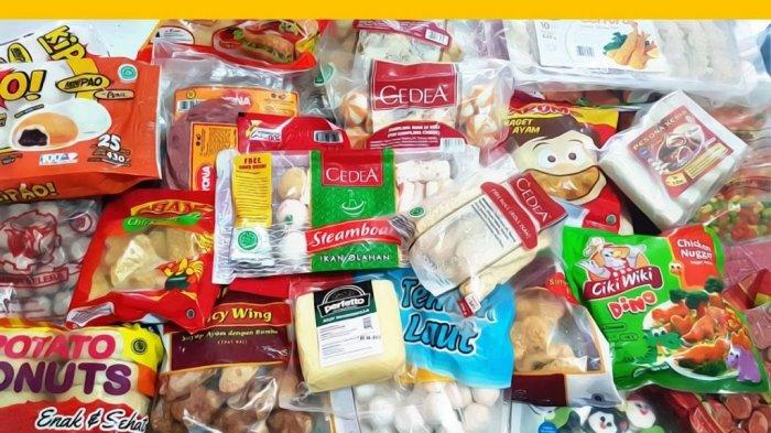 produk makanan beku atau frozen