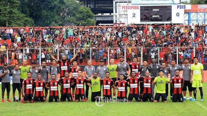Profil Tim Persipura Jayapura di Liga 1 2021, Mutiara Hitam Datangkan Pemain Asing