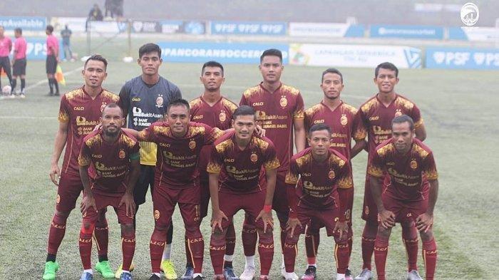 PROFIL Tim Sriwijaya FC dan Daftar Pemain Skuad Sriwijaya di Liga 2 2021