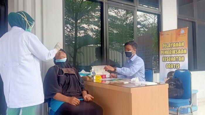 Program MUKL Jasa Raharja Adakan Rapid Test Antigen