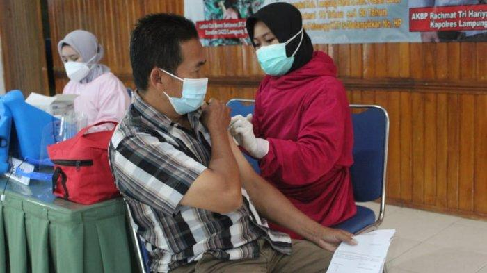 Kodim 0422/LB Gelar Serbuan Vaksinasi Covid-19 di Wilayah Lampung Barat