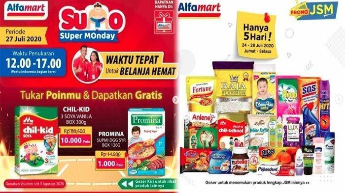 Promo Alfamart Hari Ini 27 Juli 2020, Dapatkan Harga Murah Minyak Goreng hingga Beras