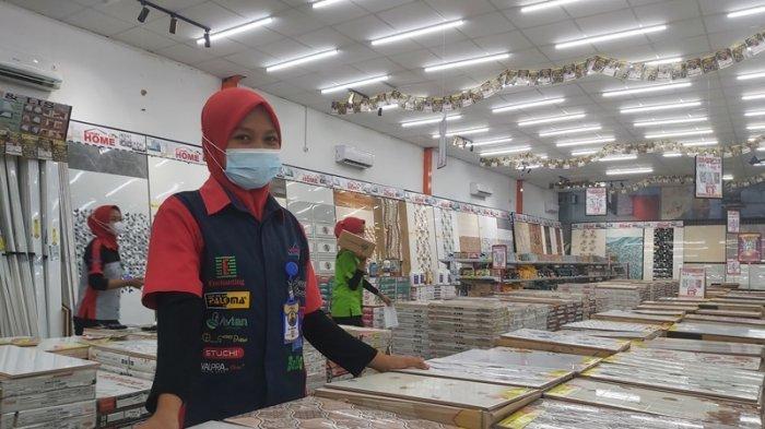 Promo PPKM di Mitra Bangunan Supermarket Lampung, Keramik Diskon hingga 60 Persen