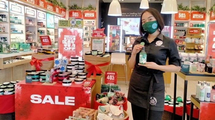 Promo Clear and Sale The Body Shop MBK, Diskon hingga 50 Persen Produk Body Care hingga Skin Care