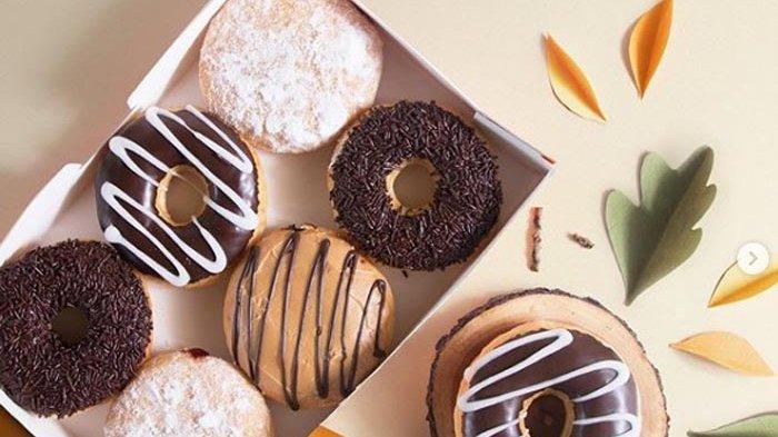 Harga Menu Donut dan Minuman di J.Co Donut and Coffee, Gajah Mada Plaza Mall, Jakarta Pusat
