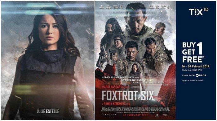 Promo Tix ID Buy One Get One Film Foxtrot Six, Tayang Perdana Hari Kamis Besok. Buruan Serbu!