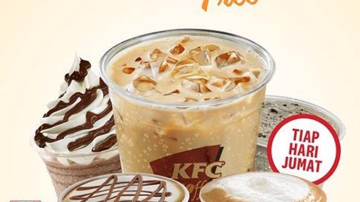 Promo KFC Coffee, Buy 1 Get 1 Free Semua Menu Kopi Tiap ...