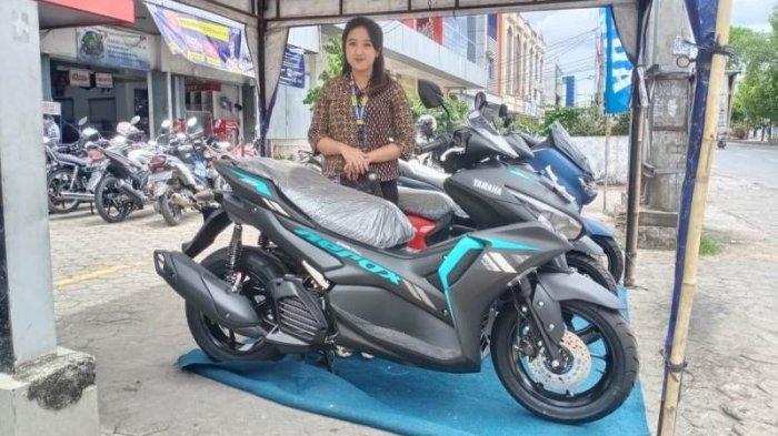 Info Motor Terbaru, Promo Menarik Oktober 2021 Pembelian Yamaha All New Aerox C155 VVA dan non ABS