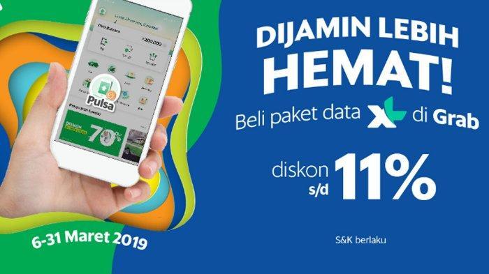 Promo Paket Internet Xl Maret 2019 Beli Pakai Aplikasi Grab Diskon Sampai 11 Persen Buruan Tribun Lampung