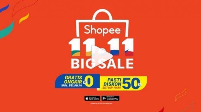 Promo Shopee 11 11 Big Sale Khusus Hari Ini Diskon 50 Persen Dari Pakaian Hingga Dompet Kulit Tribun Lampung