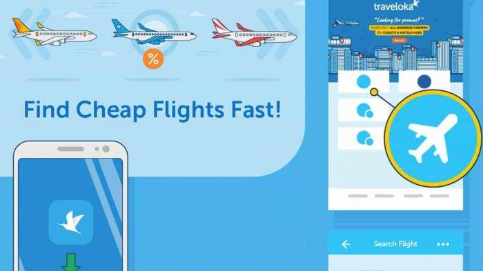 Promo Tiket Pesawat Murah Traveloka Diskon Rute Internasional Hingga Potongan Harga Tribun Lampung