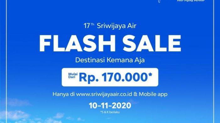 Promo Sriwijaya Air, Tiket Murah Mulai Rp 170 Ribu