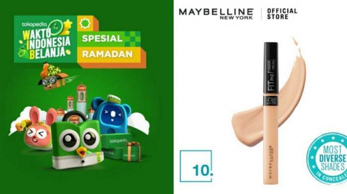 Harga Maybelline Fit Me Concealer, Simak Promo Tokopedia 2021