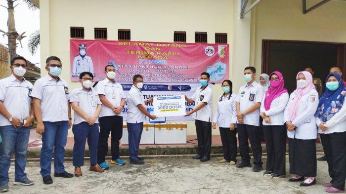 PT Pusri Kirim 3.000 Dosis Vaksin Sinopharm ke Pemkab Tulangbawang Lampung