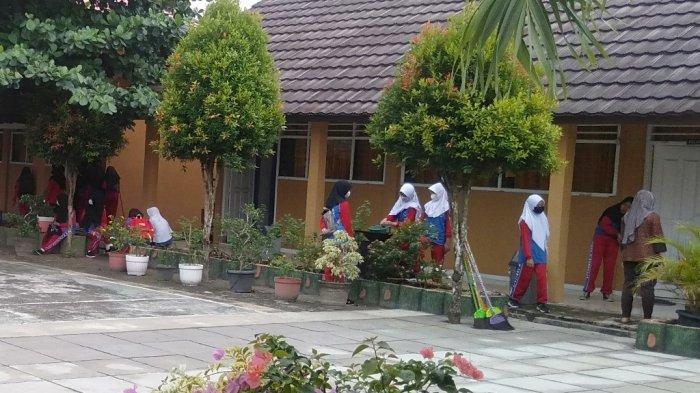 Metode PTM di Tulangbawang Lampung Berbeda-beda, Ada yang Sepekan Sekali