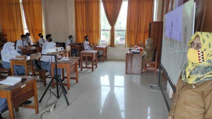 PTM Pertama di Bandar Lampung, Ada Siswa yang Diajari Bersiap Hadapi Hari Kiamat