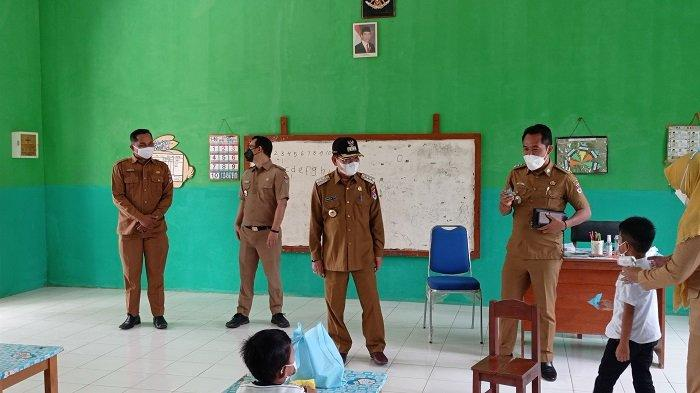 PTMT di Mesuji Lampung Mulai Berlangsung, Bupati Saply TH Tinjau 4 Sekolah