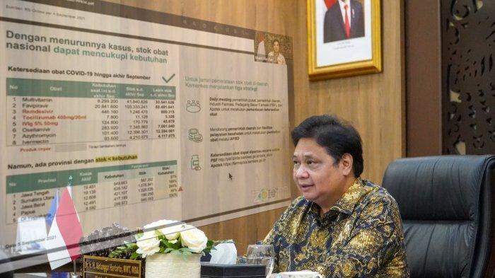 Menko Airlangga : PPKM Luar Jawa-Bali, Tetap Waspada Meski Angka Kasus Terus Menurun